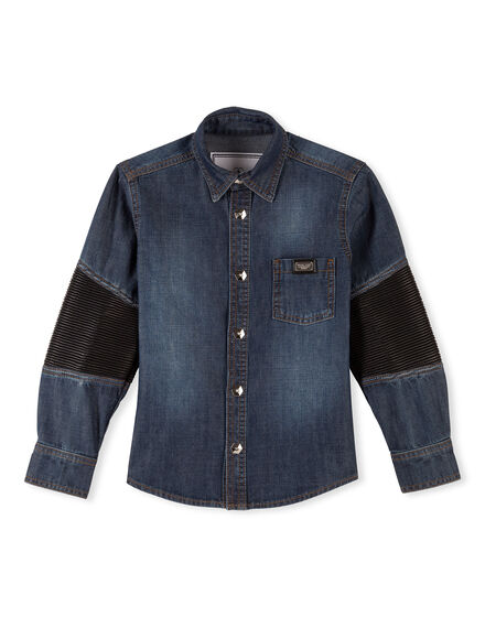 Denim Shirt Ls Sunset NYC