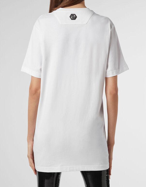 T-shirt Platinum Cut Round Neck Scarface