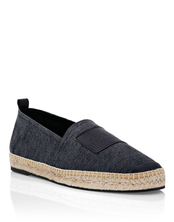 Denim Espadrillas Iconic Plein