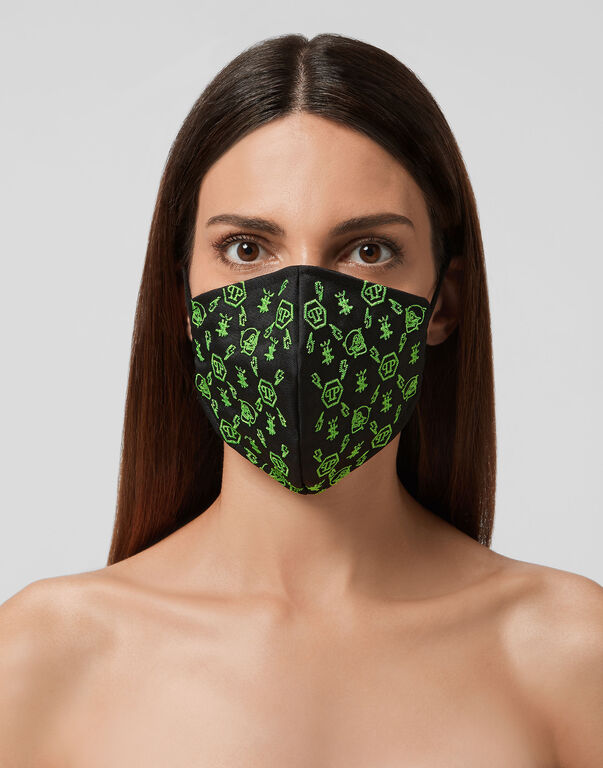 Face Mask Monogram