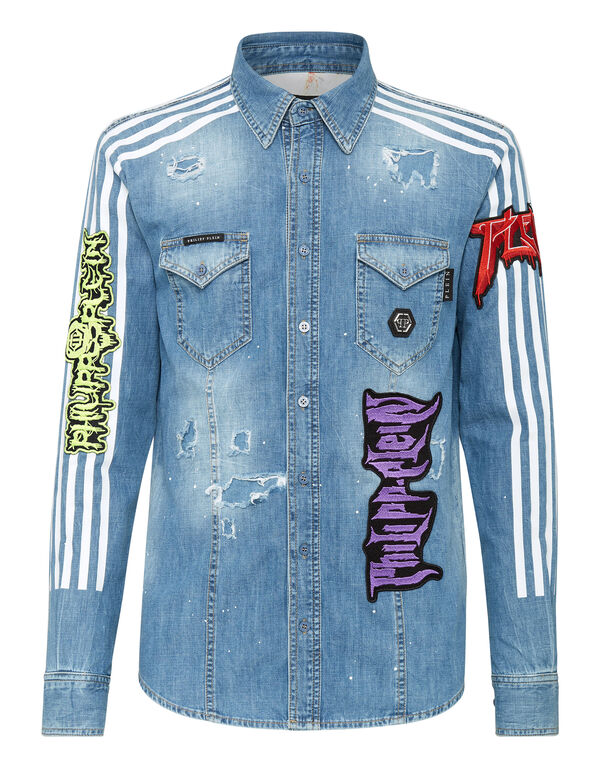 Denim Shirt Ls Rock PP