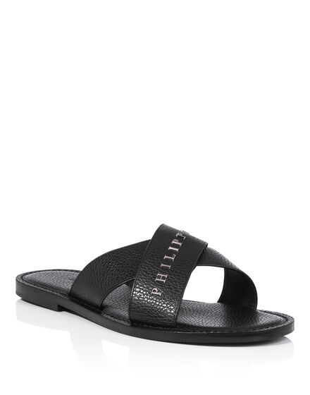 Sandals Flat Happy with you