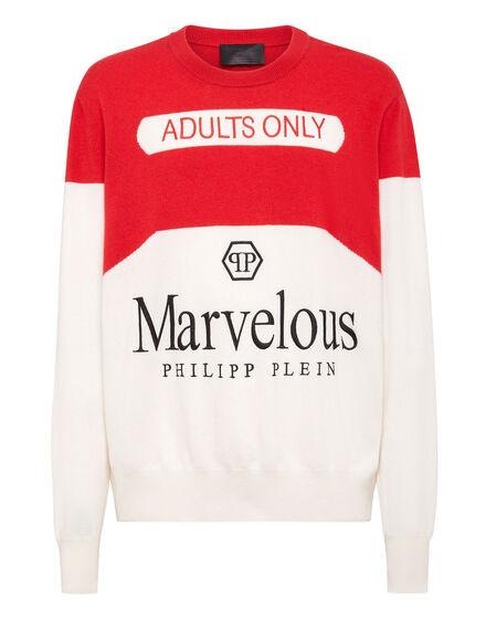 Cashmere Pullover Round Neck LS Marvelous