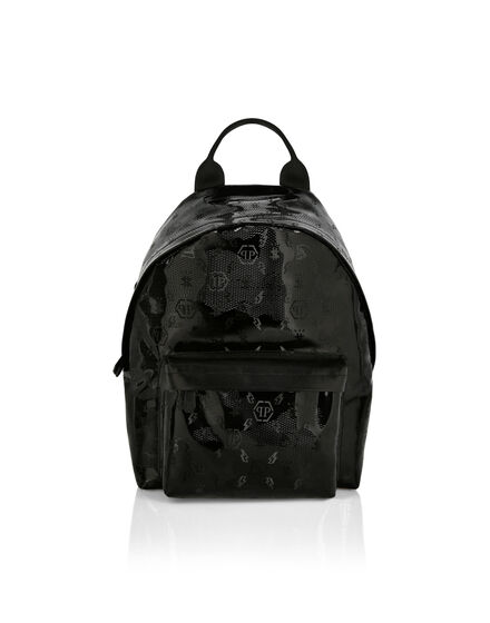 Backpack in Camou Pvc  Monogram