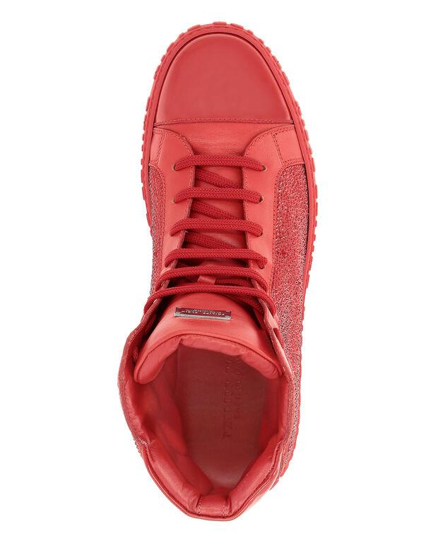 Hi-Top Sneakers Crystal