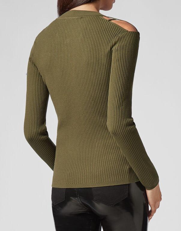 Pullover Round Neck LS Twine