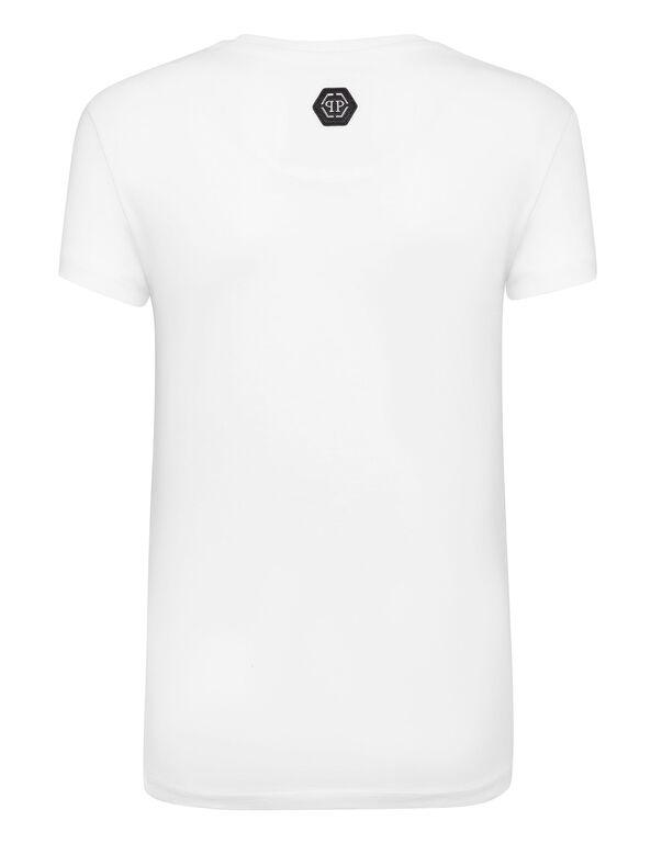 T-shirt Round Neck SS Monogram Teddy Bear