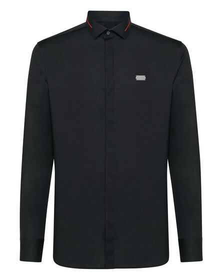 Shirt Diamond Cut LS Statement