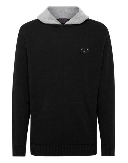 Cashmere Hoodie sweatshirt Iconic Plein