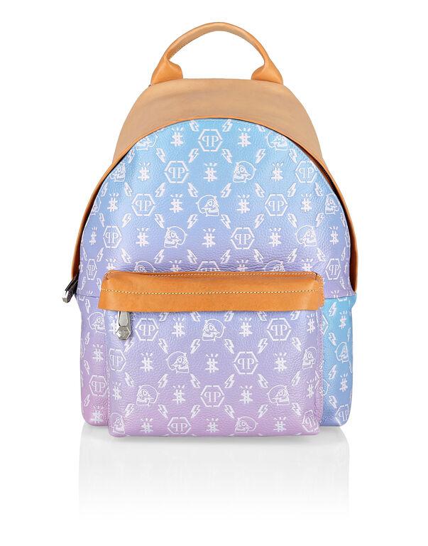 Leather Backpack Monogram