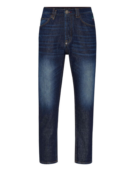 Denim Trousers Carrot Fit Iconic Plein