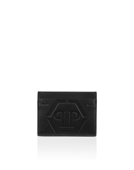 Leather Credit Cards Holder Monogram