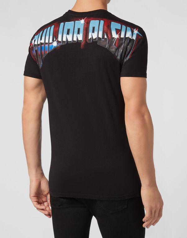 T-shirt Round Neck SS Rock band