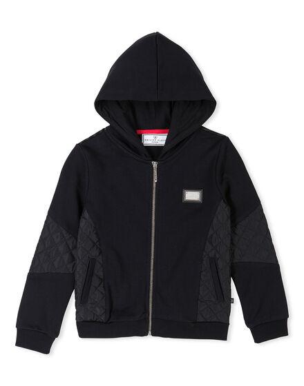 Hoodie Sweatjacket Red Mount