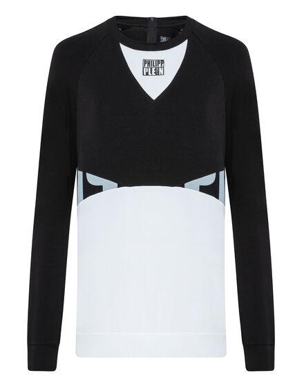 Sweatshirt LS Geometric