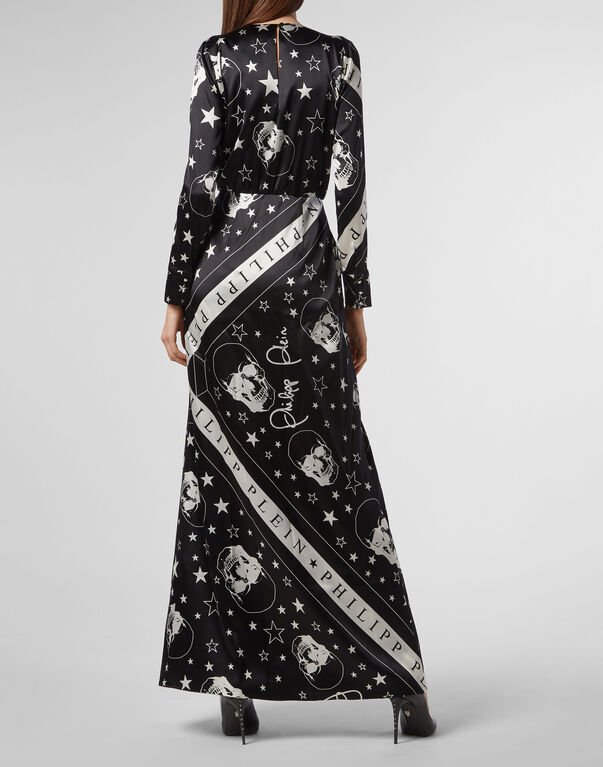 Long Dress Stars and skull