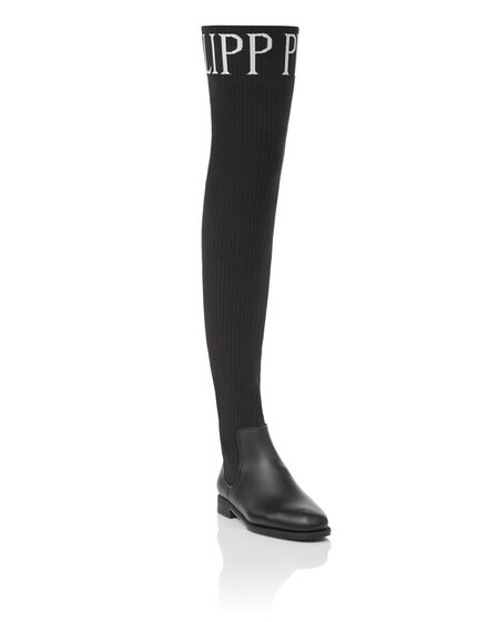 Boots Flat High Philipp Plein TM
