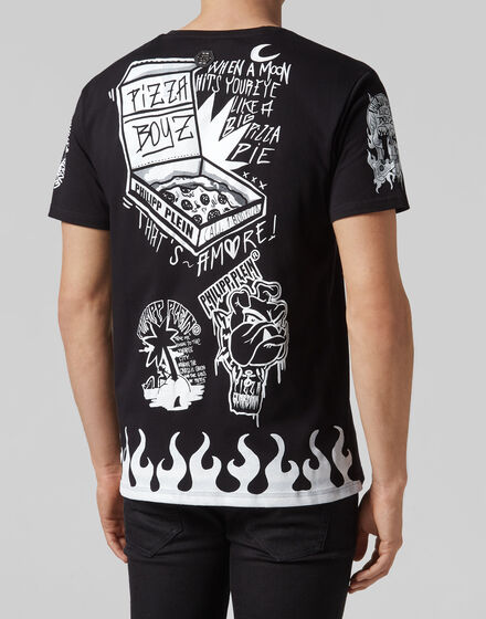 98ef0e94a018 ... T-shirt Round Neck SS Pizza boy ...