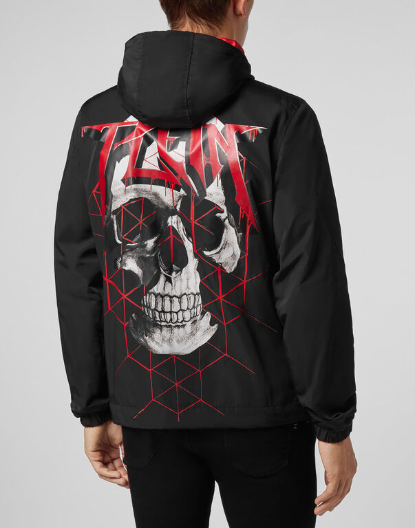 Nylon Jacket Skull and Plein