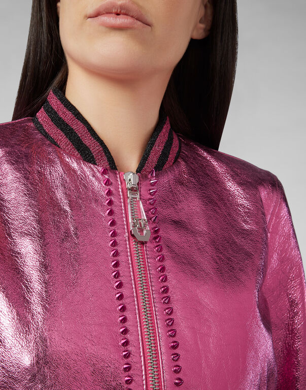 Leather Bomber Studs