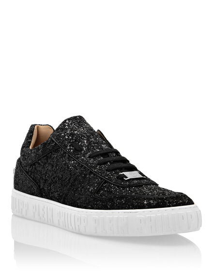Leather Lo-Top Sneakers Glitter King Power