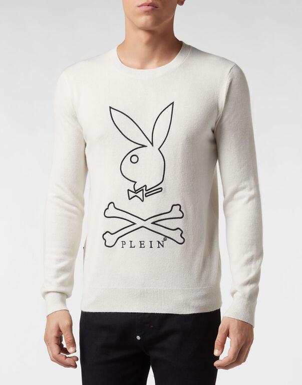 Pullover Round Neck LS Playboy