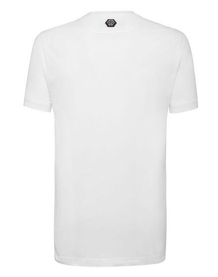 ... T-shirt Platinum Cut Round Neck Scarface ... c46a215e7963