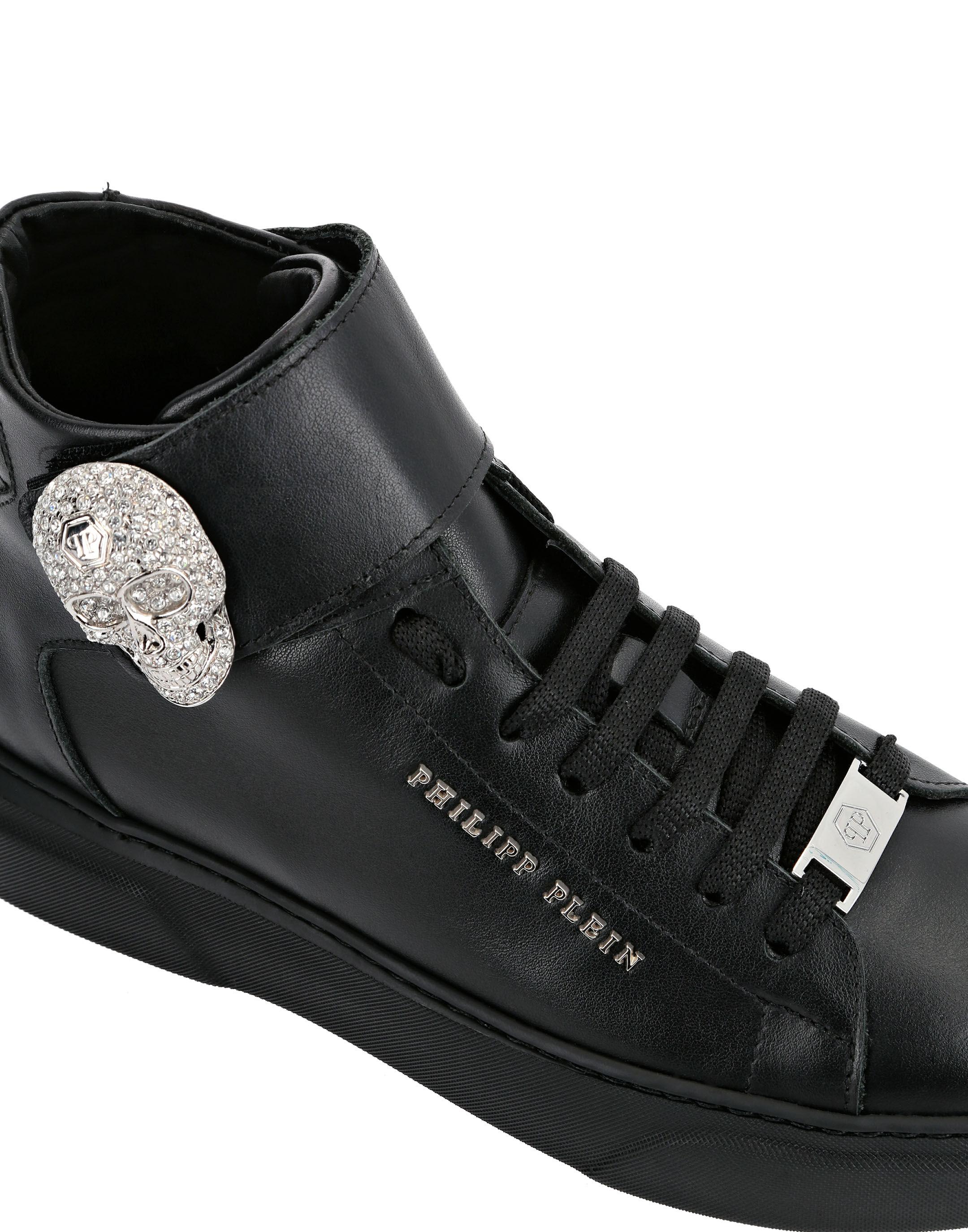 Hi-Top Sneakers Skull | Philipp Plein