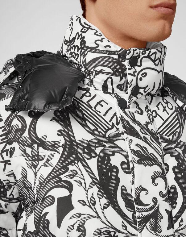 Nylon Jacket print New Baroque