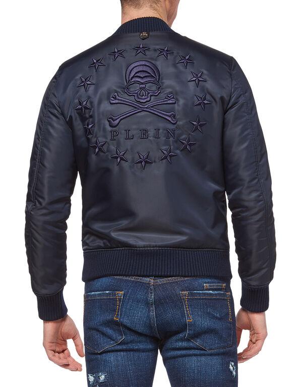 "Nylon Jacket ""Stars skull"""