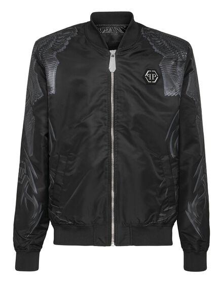 Nylon Jacket Foulard texture