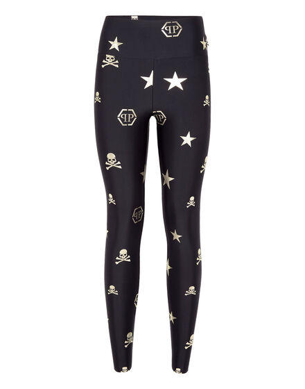 Jogging Leggings XYZ Skull and tiger