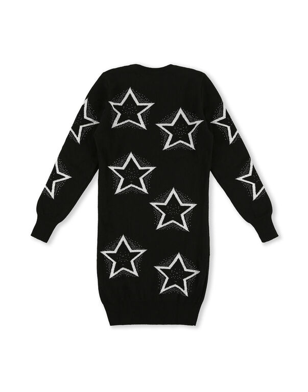 Knit Day Dress Stars