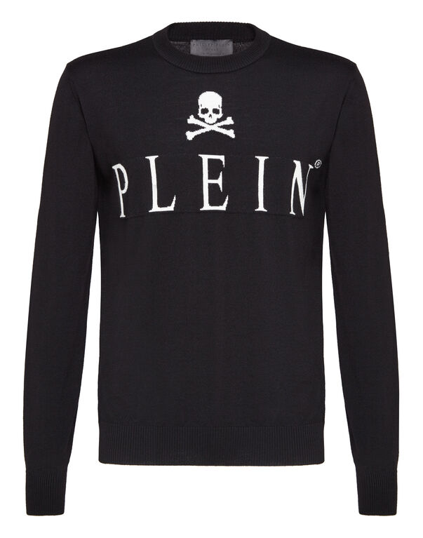 "Pullover Round Neck LS ""Classic skull"""
