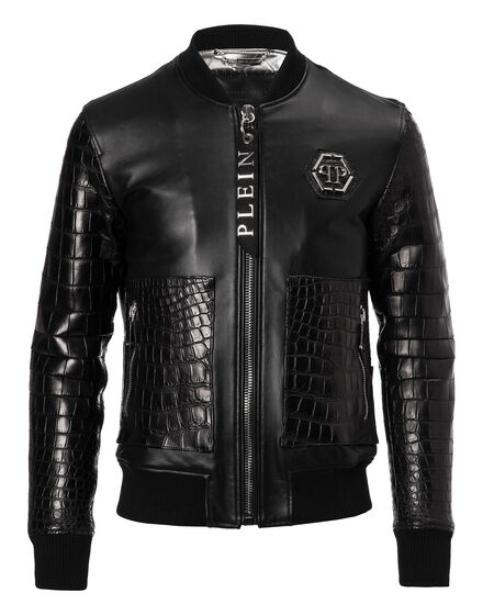 Leather Bomber York