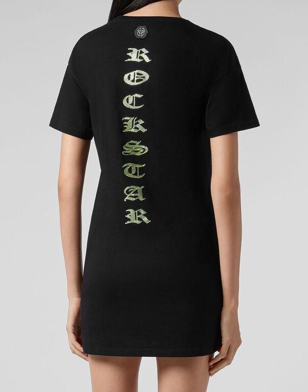T-Shirt Short Dresses Skull