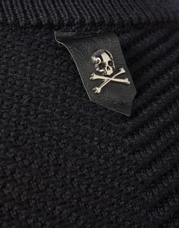 """Knit Jacket """"Gothic P"""""""