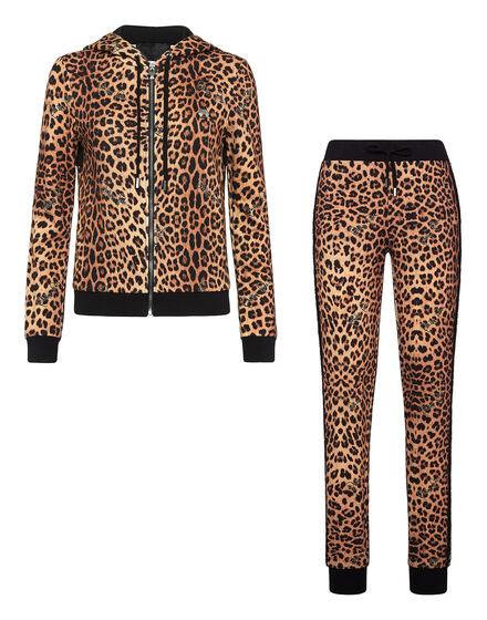 Hoodie/Trousers Leopard
