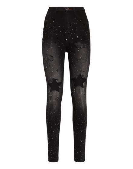 Super High Waist Jegging Stars