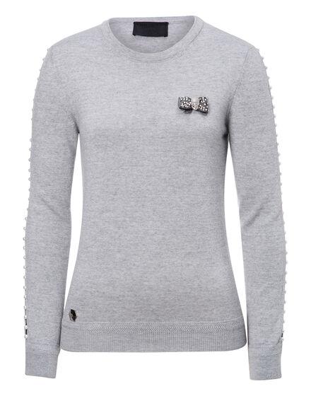 Pullover Round Neck LS Kiss Silly