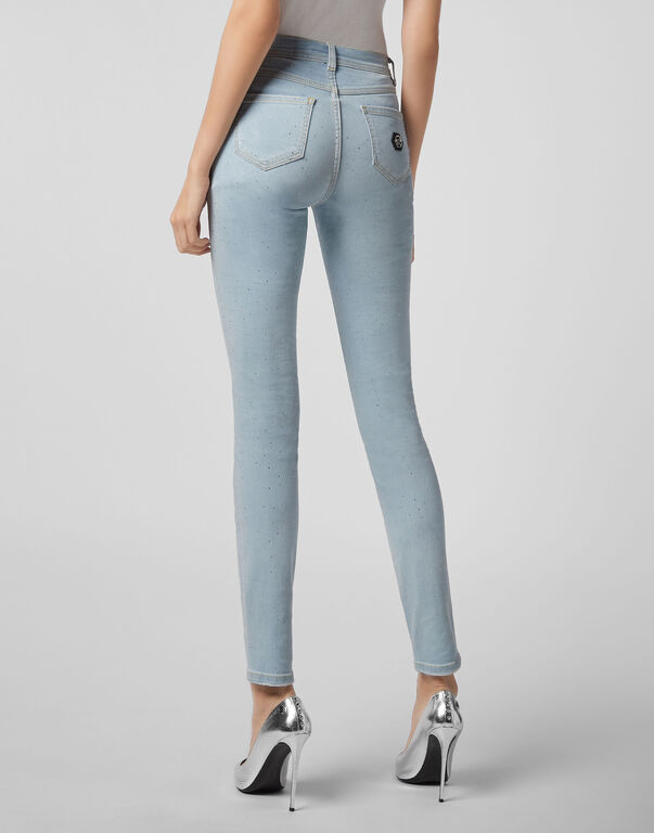 High Waist Jegging Crystal
