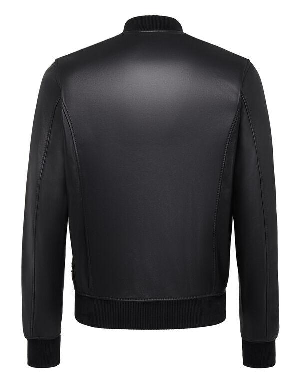 Leather Bomber Original