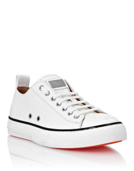 Leather Lo-Top Sneakers Megastar