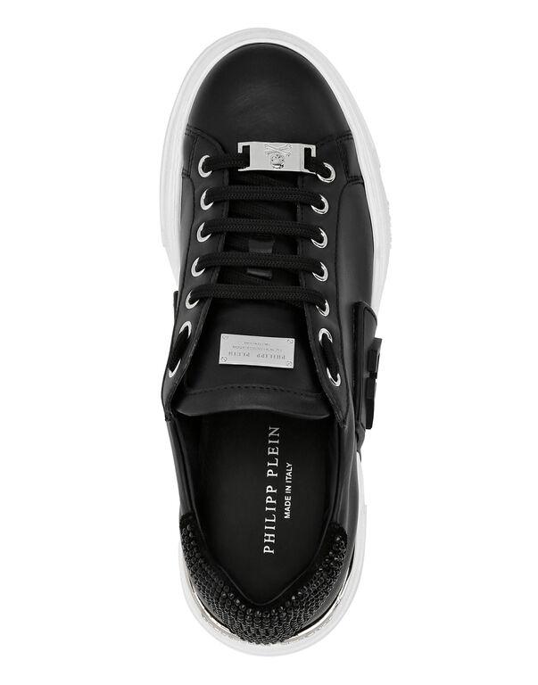 PHANTOM KICK$ Lo-Top Leather and Crystal