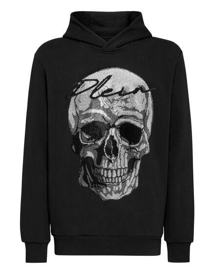 Hoodie sweatshirt  Crystal Skull