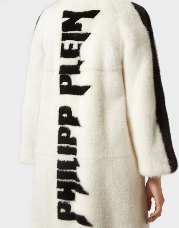 Fur Coat Long Luxury