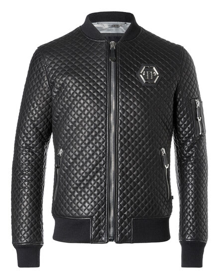 Leather Bomber Hirobumi