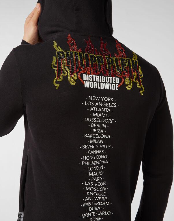 Hoodie sweatshirt Flame