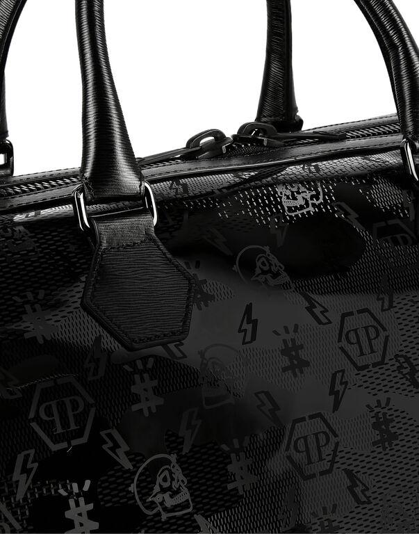 Medium Travel Bag in Camou pvc Monogram