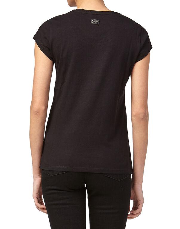 "T-shirt Round Neck SS ""Monsinior"""